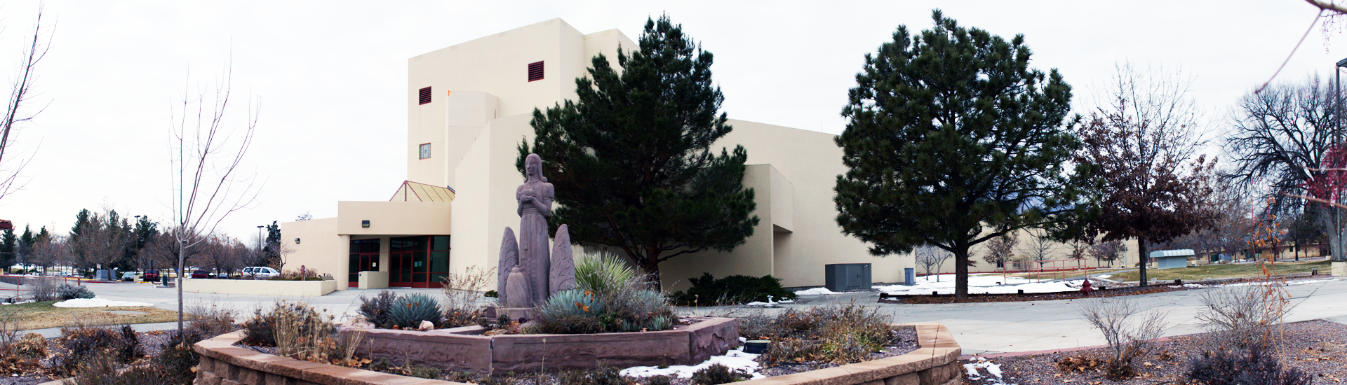 Workman Building at New Mexico Tech